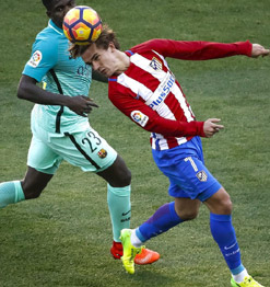FC Barcelone Atletico Madrid